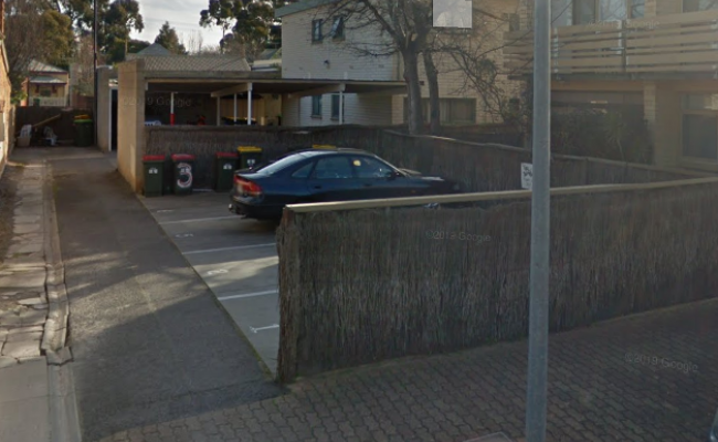 Outside parking on Gover Street in North Adelaide South Australia