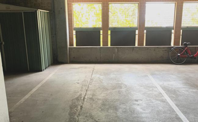 indoor parking with security