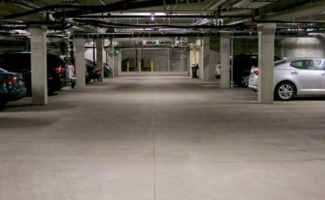 Secure Underground car space spot available NOW in Chippendale