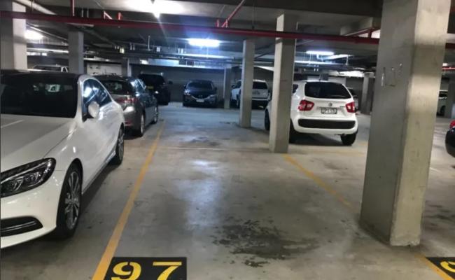 Indoor lot parking on Grandstand Parade in Zetland