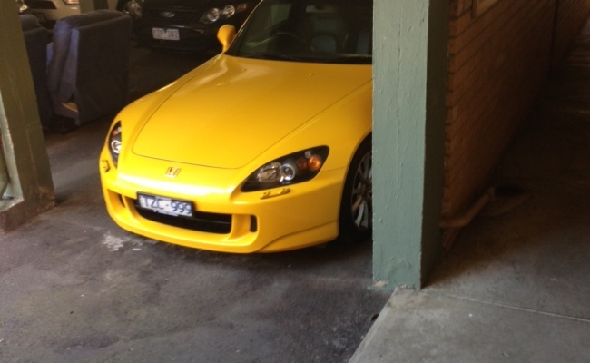 Undercover parking on Haines Street in North Melbourne
