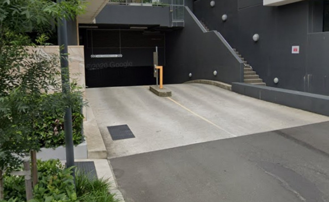 Secure indoor parking in Wentworth Point