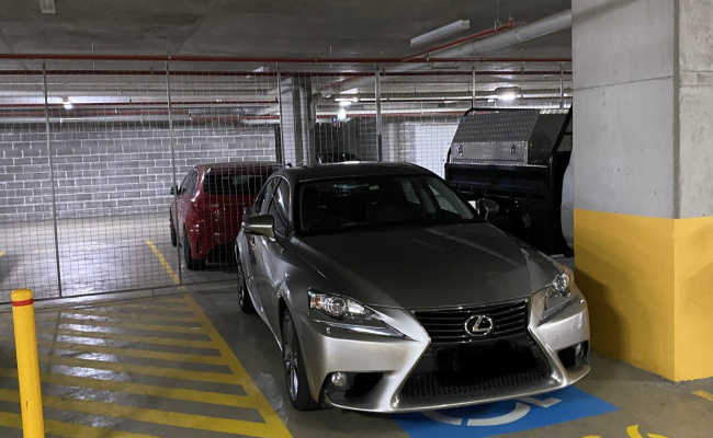 Indoor lot parking on Hamilton Crescent in Ryde New South Wales