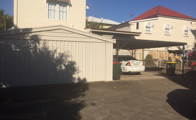 Carport parking close to city 1 bus zone #4