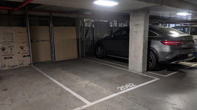 Big parking space under southern cross station