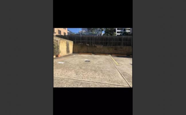 Outdoor lot parking on Harris Street in Harris Park New South Wales