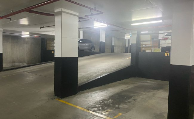 Indoor lot parking on Hawkesbury Road in Westmead New South Wales