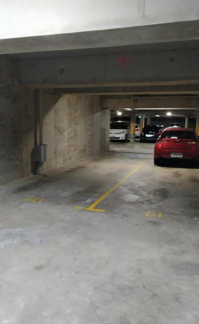 Undercover parking on Hay Street in Perth Western Australia