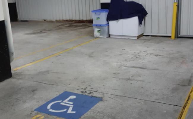 Indoor lot parking on Herbert St in St Leonards NSW 2065
