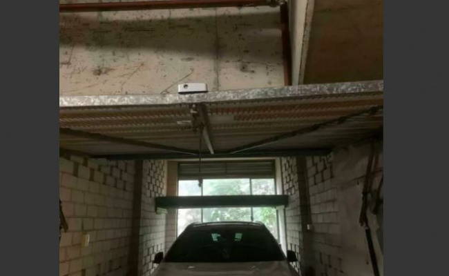 Lock up garage parking on Herbert Street in St Leonards New South Wales 2065