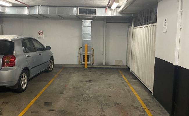 Secure underground parking next to CBD