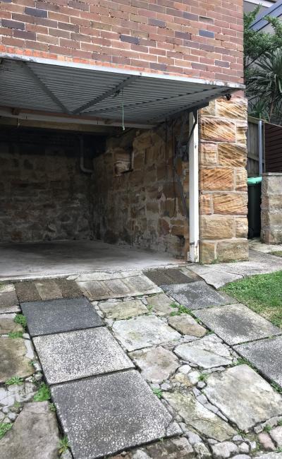 Lock up garage parking on Hewlett Street in Bronte New South Wales