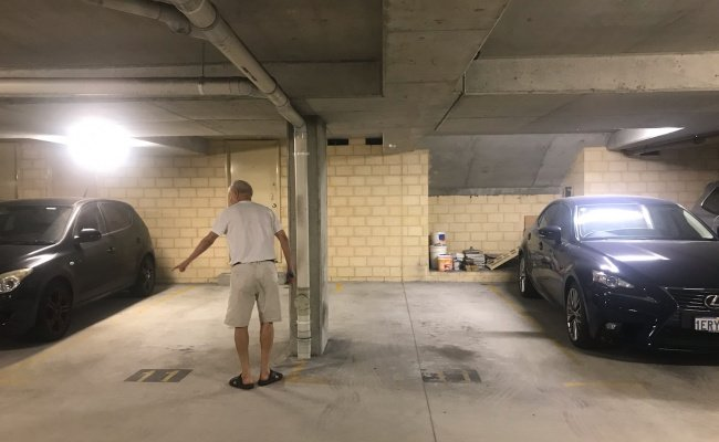 Indoor lot parking on Hood Street in Subiaco Western Australia