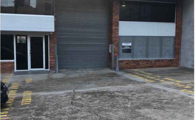 Lock up garage parking on Hope St in South Brisbane