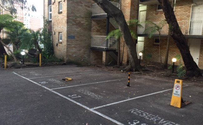 Outdoor lot parking on Hopewell Street in Paddington New South Wales