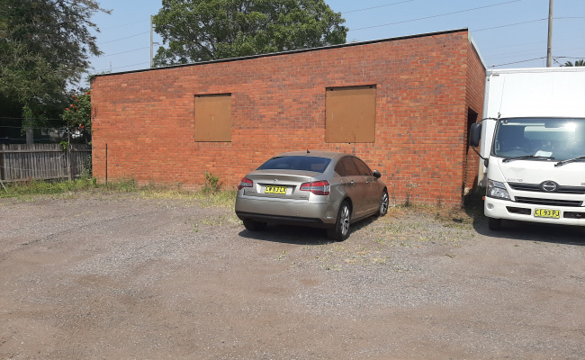 Outdoor lot parking on Howarth Street in
