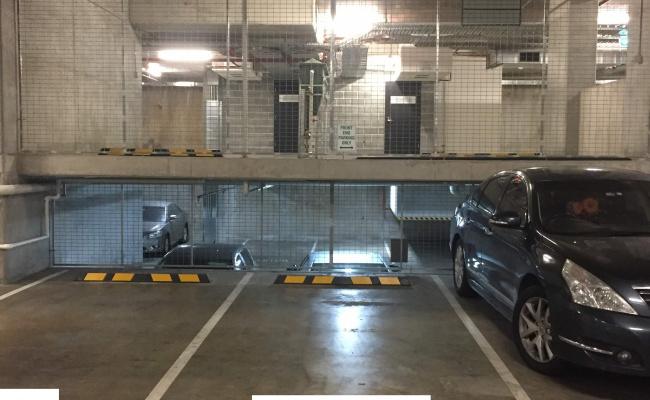 Indoor lot parking on Treacy Street in Hurstville