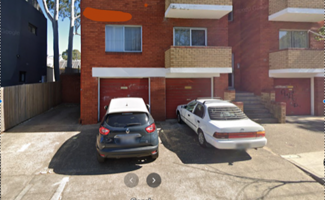 Outside parking on Iredale Street in Newtown New South Wales