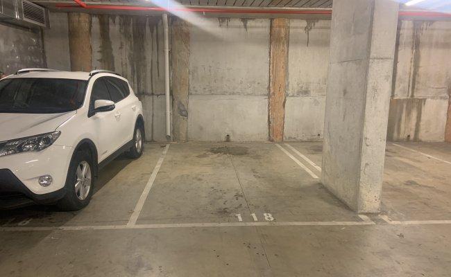 Indoor lot parking on James Street in Windsor VIC