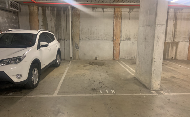 Indoor lot parking on James Street in Windsor Victoria 3181