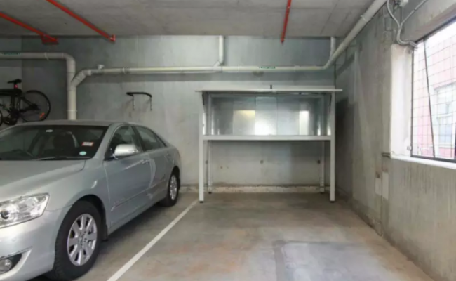 Indoor lot parking on Jeffcott St in West Melbourne