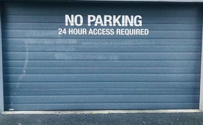Lock up garage parking on Jeffcott Street in West Melbourne