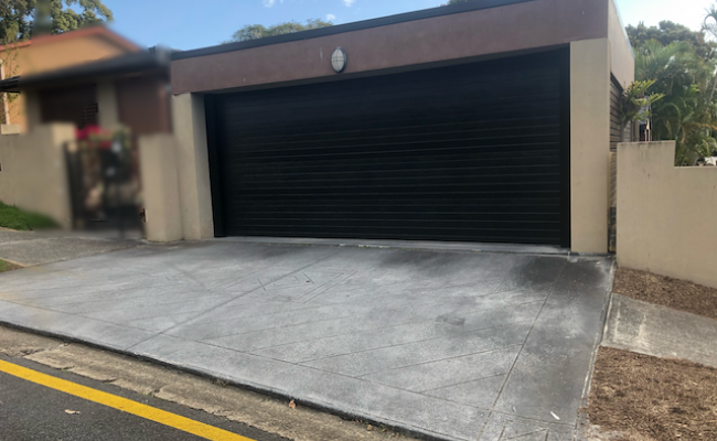 Lock up garage parking on Joan Street in Southport Queensland