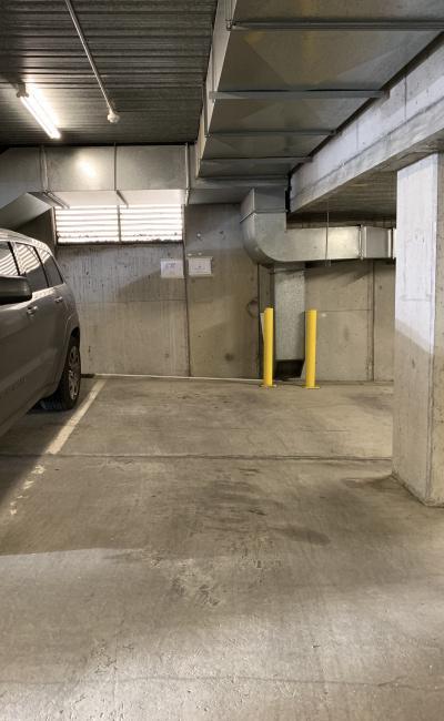Indoor lot parking on John Street in Collingwood VIC