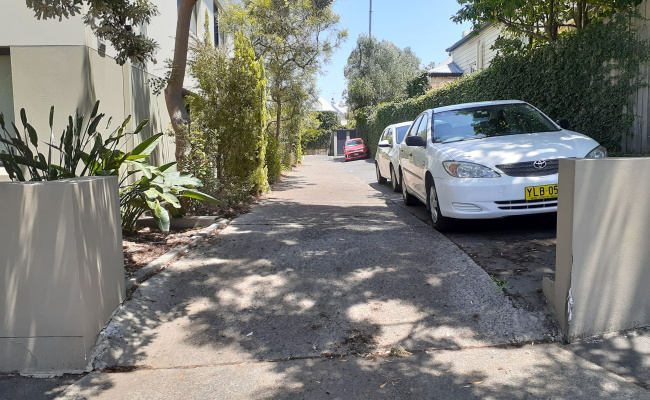 Outdoor lot parking on Johnston Street in Balmain East New South Wales 2041