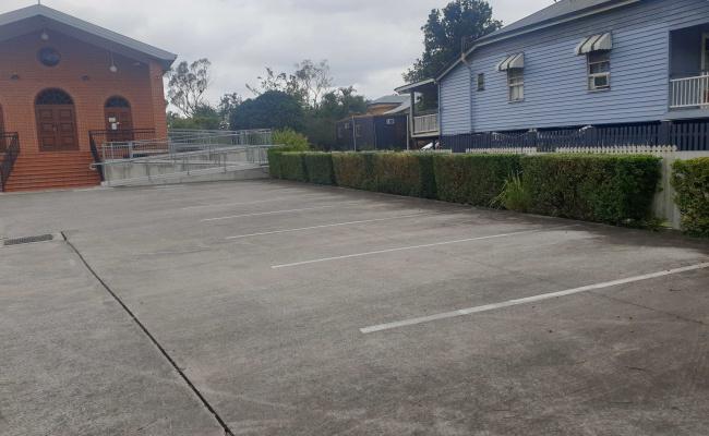 Outdoor lot parking on Junction Street in Woolloongabba Queensland