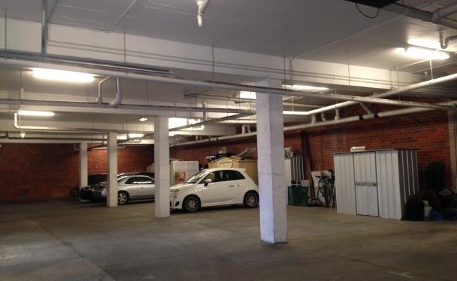 Lock up garage parking on Kerr Street in Fitzroy