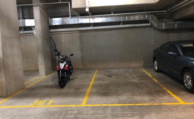 Indoor lot parking on Levey Street in Wolli Creek NSW
