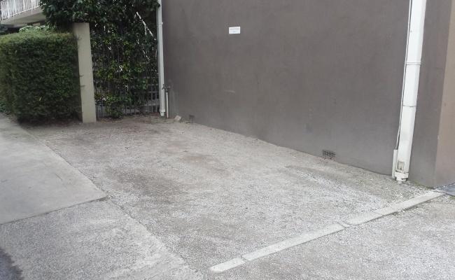 Outdoor lot parking on Liddiard Street in Hawthorn
