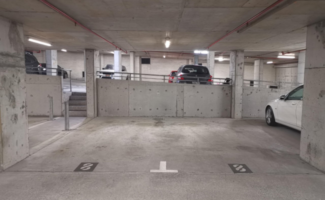 Indoor lot parking on Lithgow Street in St Leonards