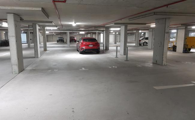 Indoor lot parking on Lithgow Street in St Leonards New South Wales
