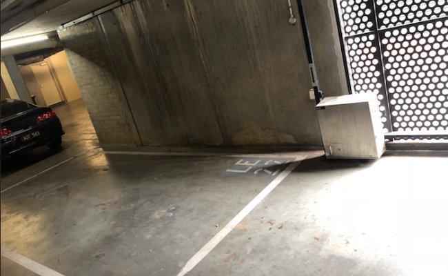 Indoor lot parking on Little Elgin Street in Carlton