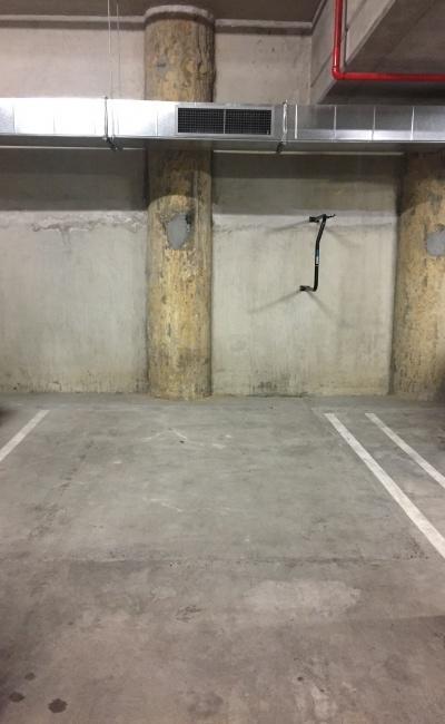 Indoor lot parking on Villiers Street in North Melbourne