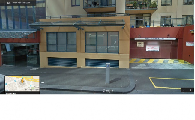 Undercover parking on Little Lonsdale Street in Melbourne