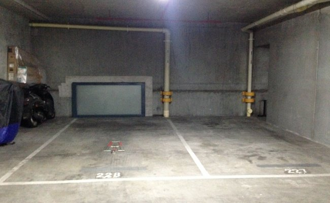 Indoor lot parking on Little Lonsdale Street in Melbourne
