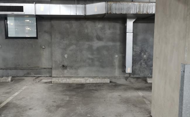 Indoor lot parking on Little Lonsdale Street in Melbourne Victoria