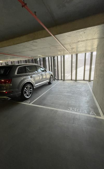 Indoor lot parking on Little Lonsdale Street in Melbourne Victoria
