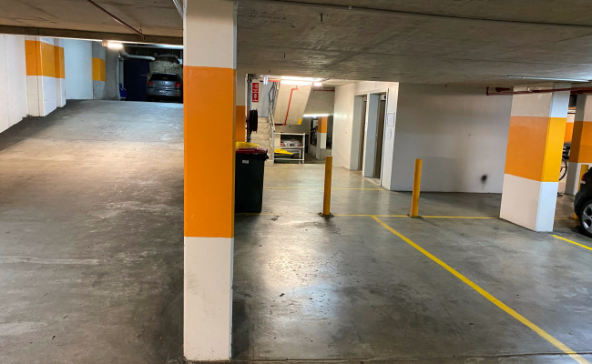 Indoor lot parking on Liverpool Street in Darlinghurst New South Wales