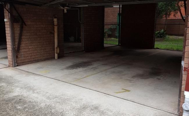 Undercover parking on Livingstone Road in Marrickville
