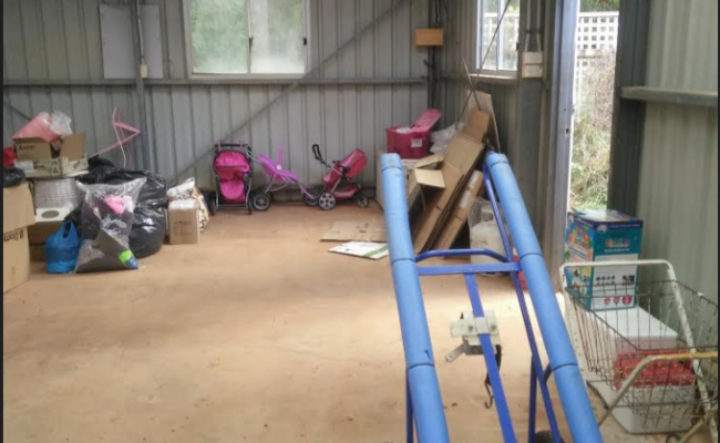 Tamborine Mountain - Double Shed for Workshop