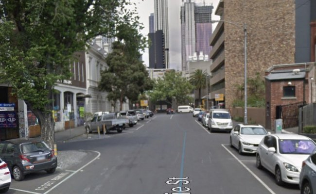 Indoor lot parking on MacKenzie Street in Melbourne VIC