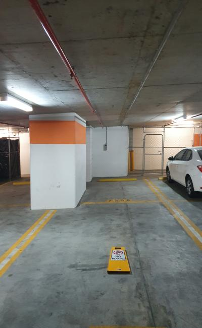Undercover parking on margaret street in Brisbane city