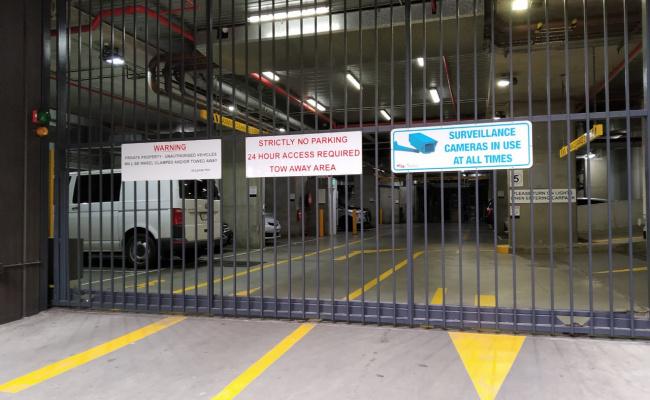 Lock up garage parking on Marmion Place in Docklands VIC 3008