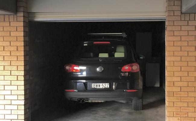 Lock up garage parking on Martins Avenue in Bondi NSW