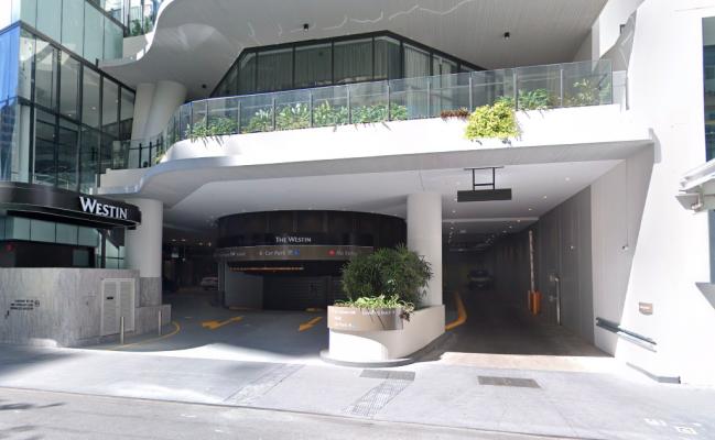 Indoor lot parking on Mary Street in Brisbane City Queensland