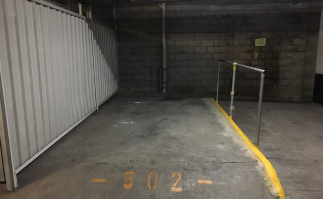 Indoor lot parking on Mary Street in Rhodes New South Wales